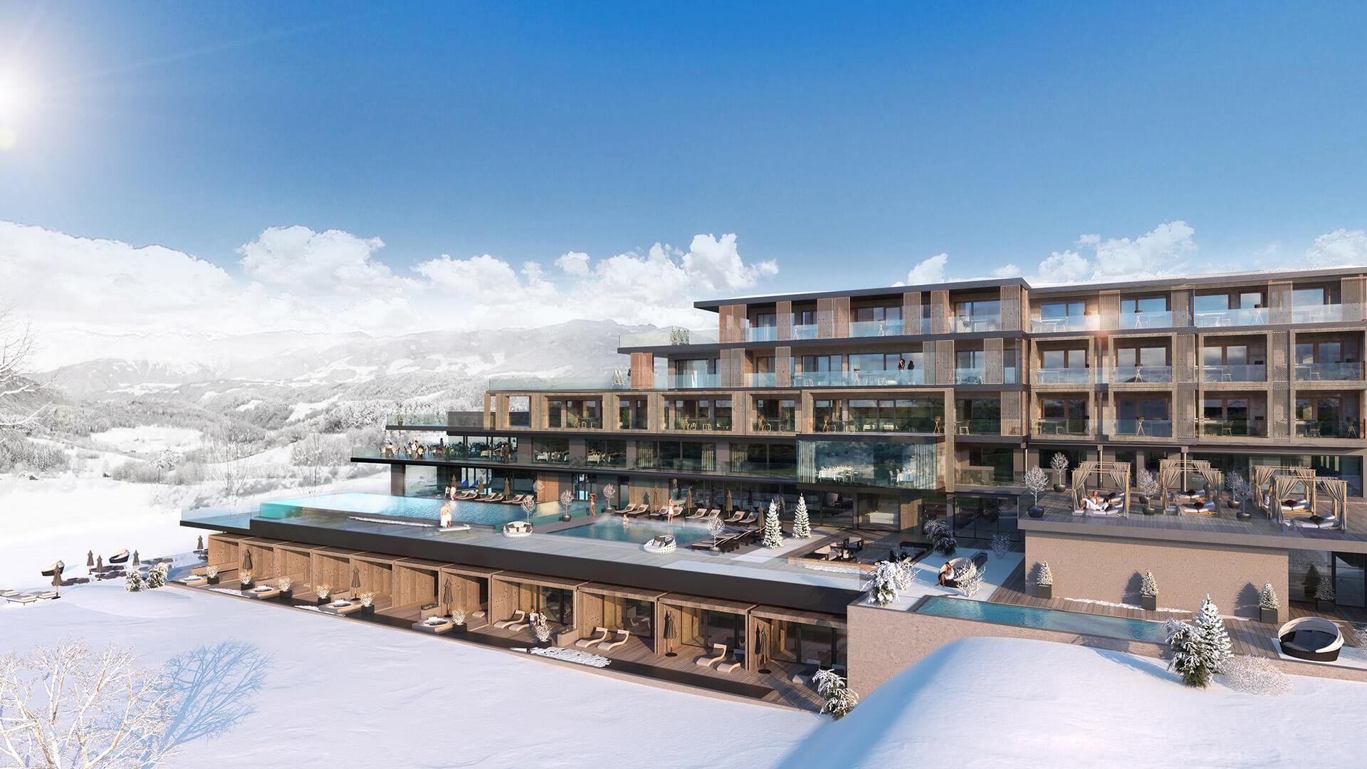 Design Hotel Il Berg Luxury Hotel Di Roma : L hotel winkler si trasforma in family resort lusso hotelmag