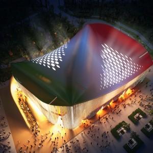 Il Padiglione Italia a Expo 2020 Dubai- rendering 3